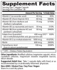 Fully Active Vitamin B Complex / 30 Vcaps
