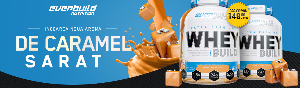 Salted Caramel EVERBUILD Ultra Premium Whey Build
