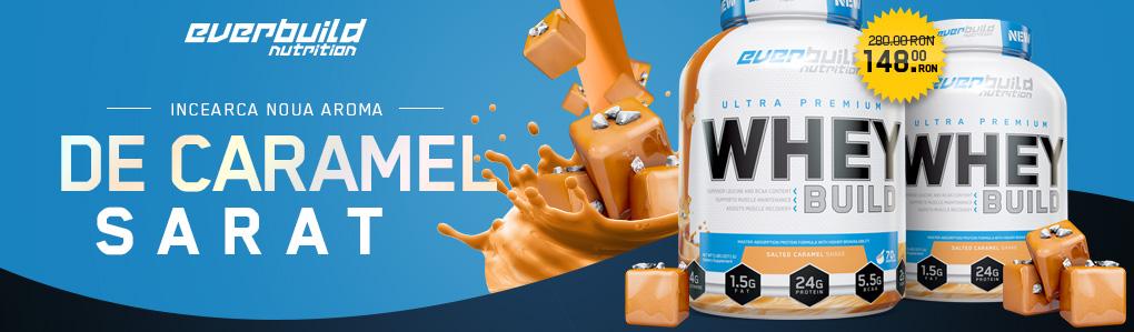 Salted Caramel EVERBUILD Ultra Premium Whey Build