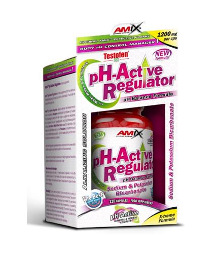 AMIX pH Active Regulator / 120 Caps.