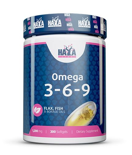 haya-labs Omega 3-6-9 / 200 Softgels