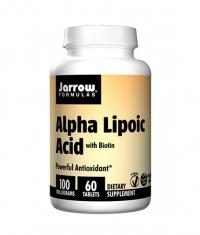 Jarrow Formulas Alpha Lipoic Acid + Biotin / 60 Tabs.
