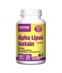 Jarrow Formulas Alpha Lipoic Sustain + Biotin / 120 Tabs.