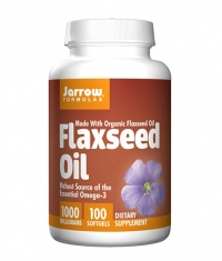Jarrow Formulas Flaxseed Oil / 100 Soft.
