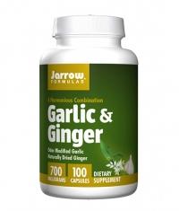 Jarrow Formulas Garlic & Ginger / 100 Caps.