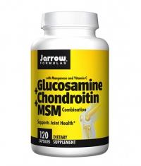 Jarrow Formulas Glucosamine + Chondroitin + MSM / 120 Caps.