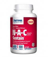 Jarrow Formulas NAC Sustain® / 100 Tabs.
