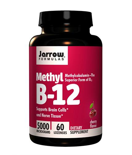 jarrow-formulas Methyl B-12 5000mcg / 60 Tabs.