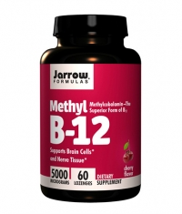 Jarrow Formulas Methyl B-12 5000mcg / 60 Tabs.