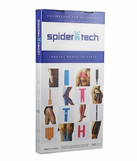 SPIDERTECH PRE-CUT UPPER KNEE CLINIC PACK [10 PCS] (GENTLE)