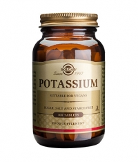 SOLGAR Potassium / 100 Tabs.