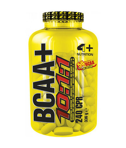 4-nutrition BCAA+ 10:1:1 / 240 Tabs.