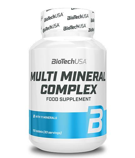 biotech-usa Multi Mineral Complex 100 Tabs.