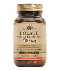 SOLGAR Folate (metafolin) / 50 tabs.