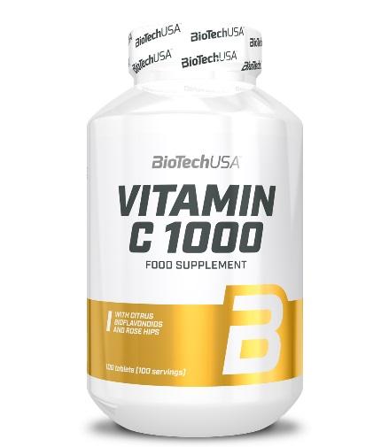 biotech-usa Vitamine C 1000 mg. / 100 Tabs.