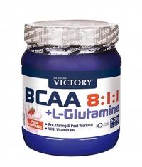 VICTORY SPORT & FITNESS BCAA 8:1:1 + L-Glutamine