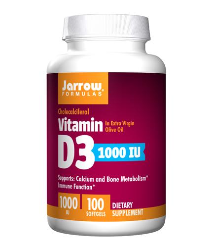 jarrow-formulas Vitamin D3 1000IU / 100 Soft.