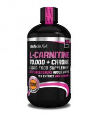 BIOTECH USA L-Carnitine + Chrome 70.000 Liquid / 500 ml.