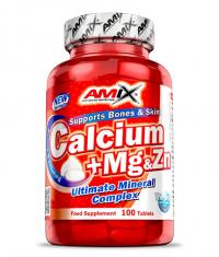 AMIX Calcium + Mg + Zn 100 Tabs.