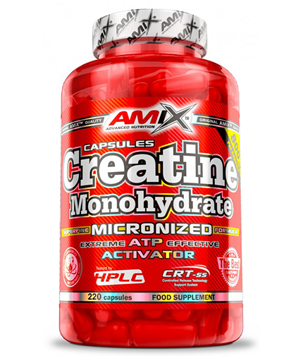 AMIX Creatine Monohydrate 800mg. / 220 Caps.