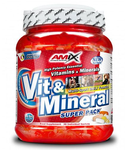 amix Super Vit-Mineral Pack 30 Serv.