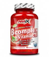 AMIX B-Complex  + Vitamin C & E / 90 Tabs.