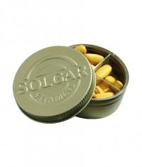 SOLGAR Pill Box / Metal