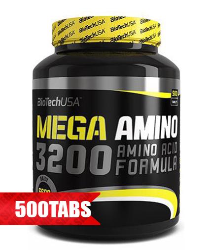 biotech-usa Mega Amino 3200 / 500 Tabs.