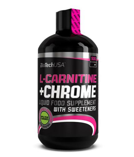 biotech-usa L-Carnitine + Chrome 500ml.