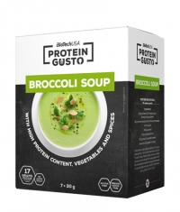 BIOTECH USA Protein Gusto Broccoli Soup / 7x30g.