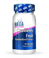 HAYA LABS Cranberry Fruit Extract / 30 Caps.