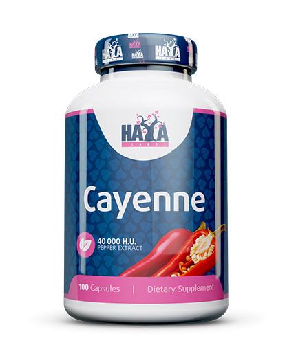 haya-labs Cayenne Pepper Extract 40000 H.U. / 100 Caps.