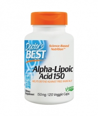 DOCTOR\'S BEST Alpha-Lipoic Acid 150mg. / 120 Vcaps.