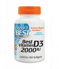 DOCTOR'S BEST Vitamin D3 2000IU / 180 Soft.