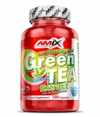 AMIX Green Tea Extract with Vitamin C 100 Caps.