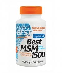 DOCTOR'S BEST MSM 1500mg. / 120 Tabs.
