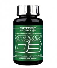 SCITEC Vitamin D3 / 250 Caps.