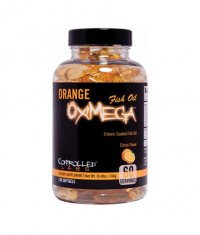 CONTROLLED LABS Orange OxiMega Fish Oil 120 Caps.