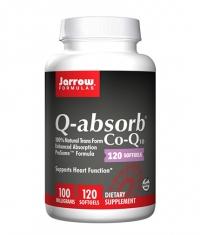 Jarrow Formulas Q-absorb Co-Q10 100mg. / 120 Soft.