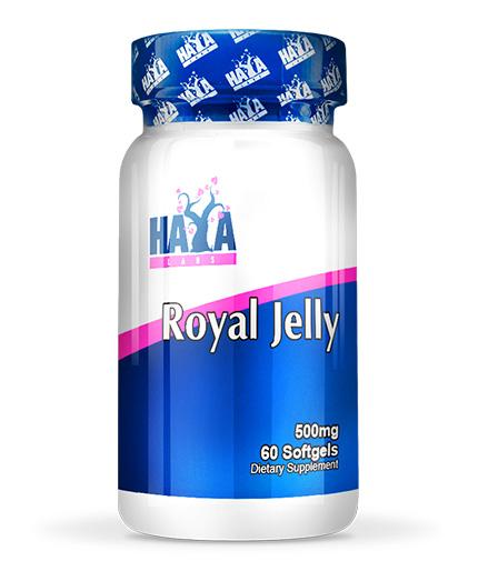 HAYA LABS Royal Jelly 500mg. / 60 Softgels