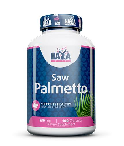 haya-labs Saw Palmetto 550mg. / 100 Caps.