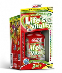 AMIX Life's Vitality Active Stack 60 Tabs.