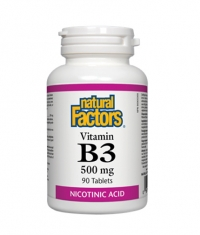 NATURAL FACTORS Vitamin B3 500 mg / 90 tabs