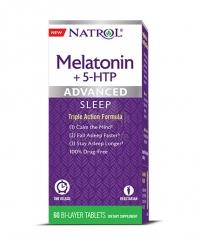 NATROL Advanced Sleep Melatonin + 5-HTP