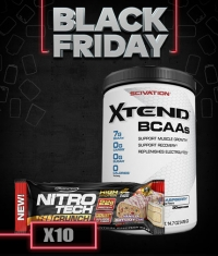 PROMO STACK BF CU PROMO AROMA (Xtend-Lime/Nitrotech-Cookies and Cream)