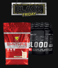 PROMO STACK cu AROME SPECIALE (BSN SYNTHA / BIOTECH USA Black Blood )