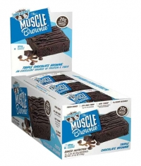 Lenny & Larry's Triple Chocolate Muscle Brownie / 12x65g.