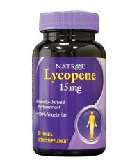 NATROL Lycopene 15mg. / 30 Tabs.