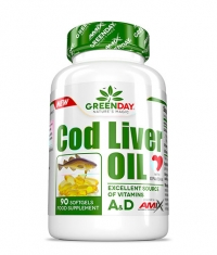 AMIX Greenday Cod Liver Oil / 90 Soft..
