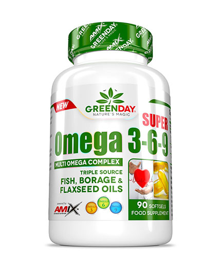 amix Greenday Super Omega 3-6-9 / 90 Soft.